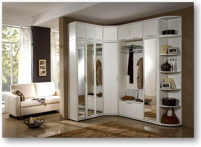 Мебель для больших прихожих