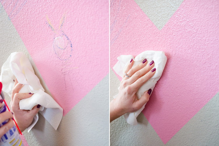 Как убрать фломастер со стен